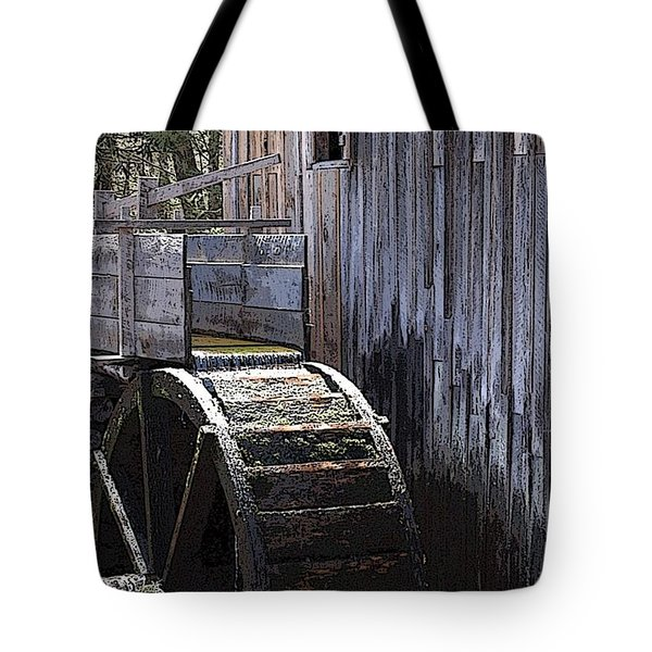 Old Mill Art01 Tote Bag