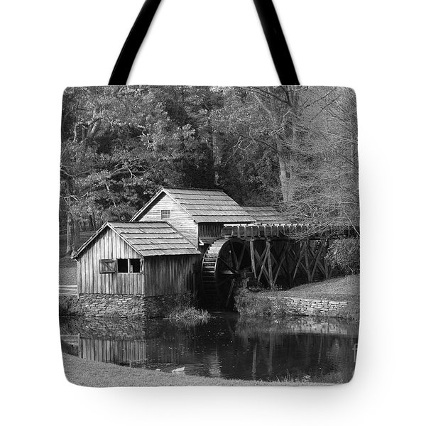 Tote Bag featuring the photograph Virginia's Old Mill by Eric Liller