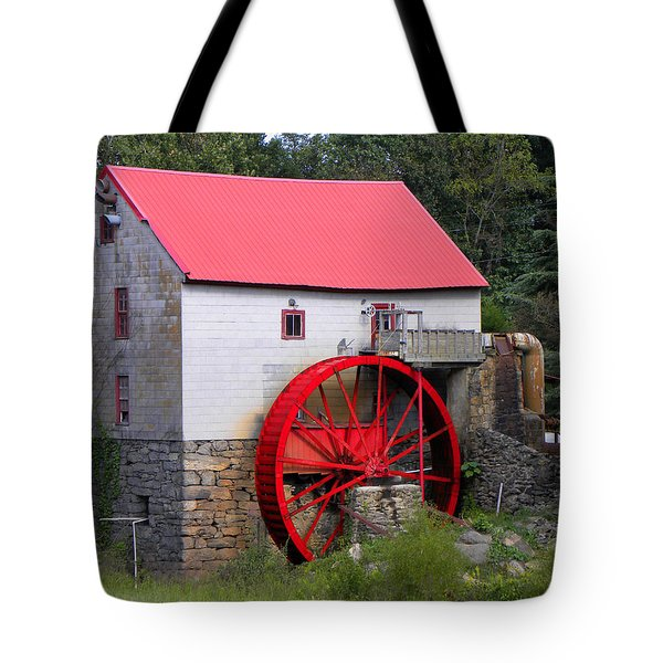 Tote Bag featuring the photograph Old Mill Of Guilford by Sandi OReilly