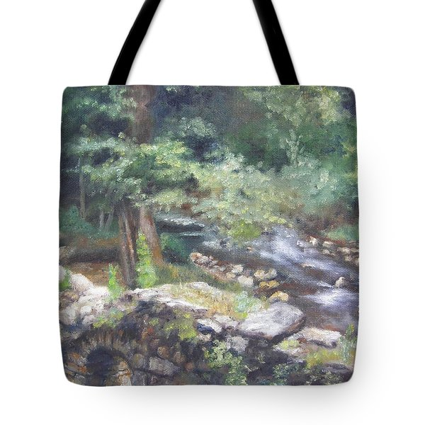 Old Mill Steam II Tote Bag
