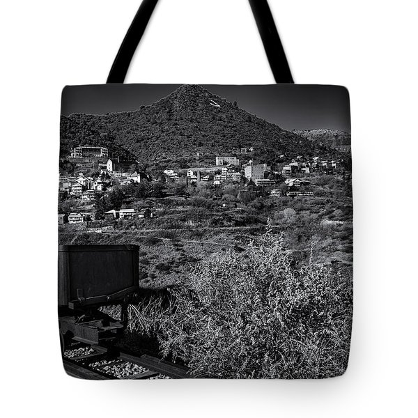 Tote Bag featuring the photograph Old Mining Town No.23 by Mark Myhaver