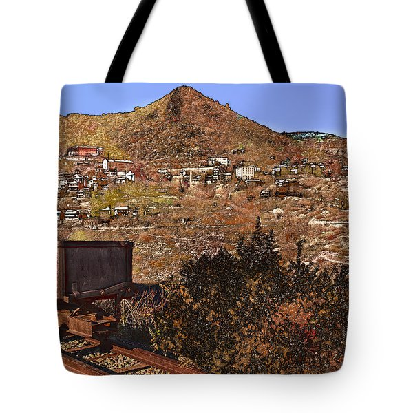 Old Mining Town No.24 Tote Bag