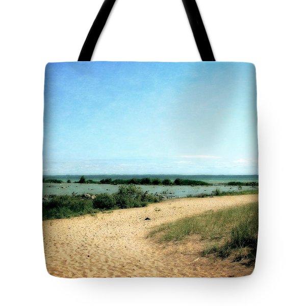 Old Mission Peninsula Beach Tote Bag