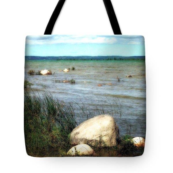 Old Mission Peninsula Tote Bag