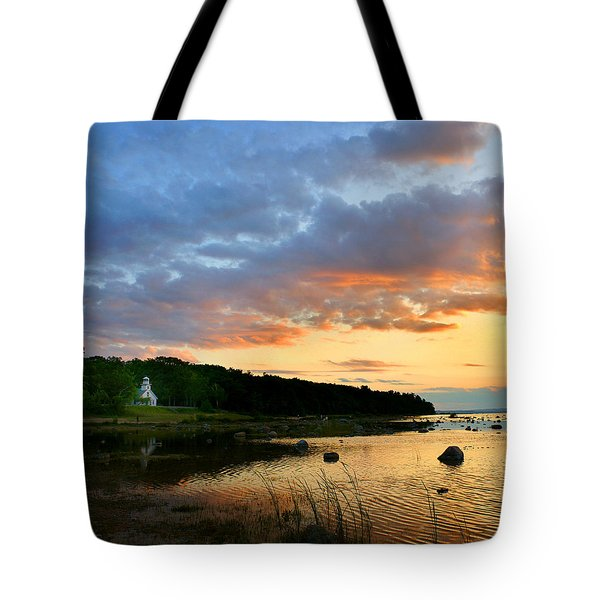 Old Mission Point Tote Bag