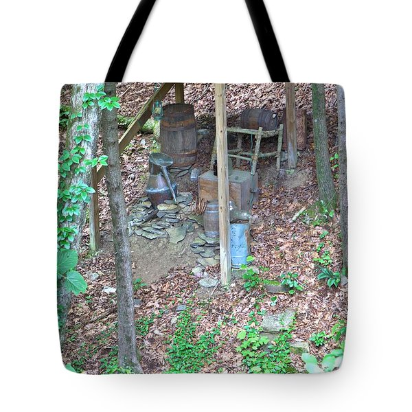 Old Mountain Still Tote Bag by Gordon Elwell