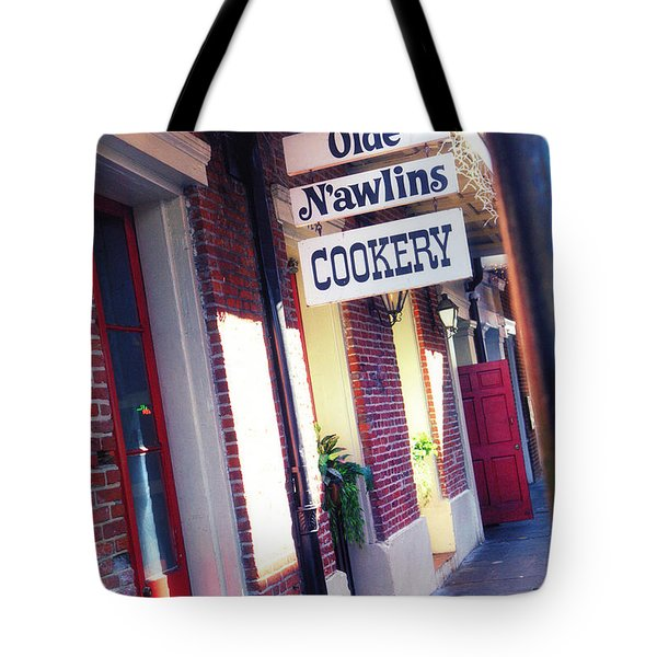 Tote Bag featuring the photograph Old Nawlins by Erika Weber