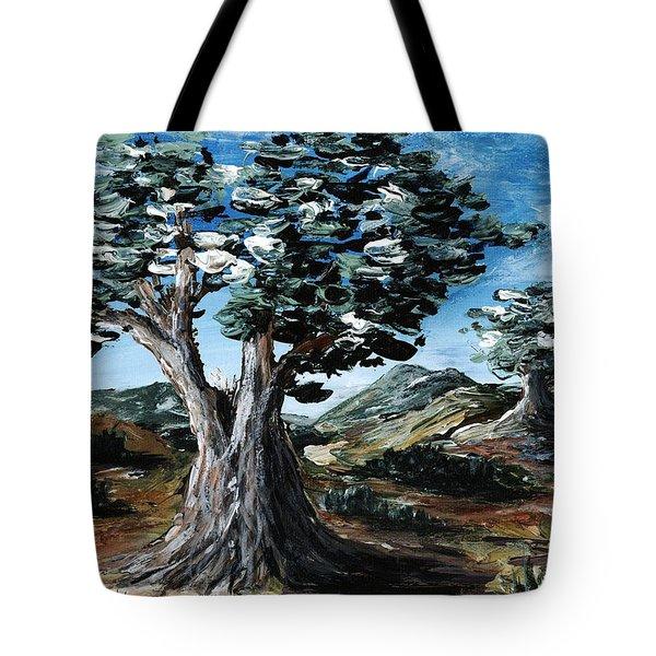 Old Olive Tree Tote Bag by Anastasiya Malakhova