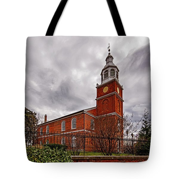 Old Otterbein Country Church Tote Bag