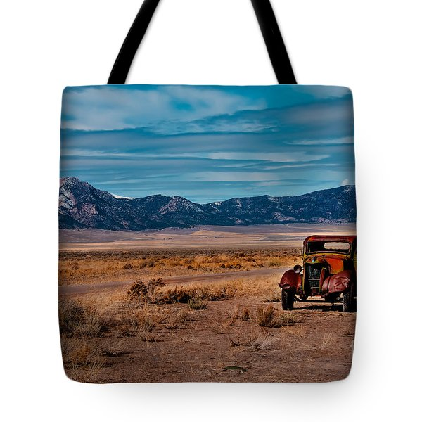Old Pickup Tote Bag by Robert Bales