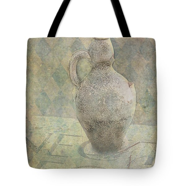 Old Pitcher Abstract Tote Bag by Garry Gay
