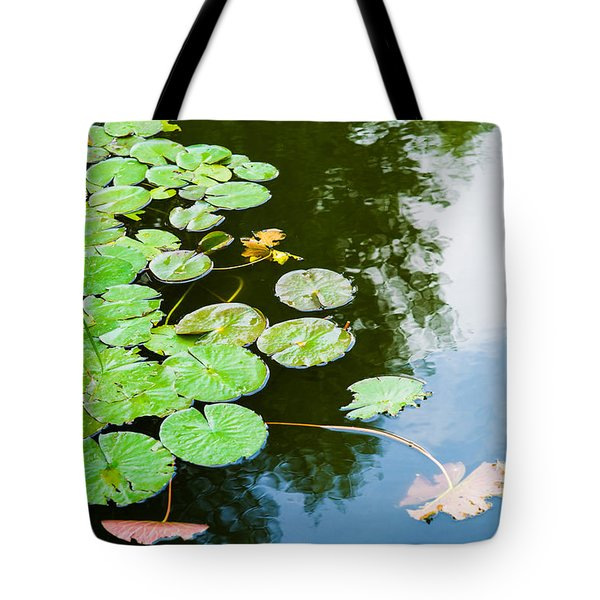 Old Pond - Featured 3 Tote Bag by Alexander Senin