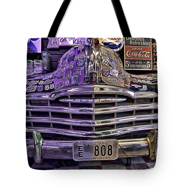 Tote Bag featuring the photograph Old Pontiac by Jason Abando
