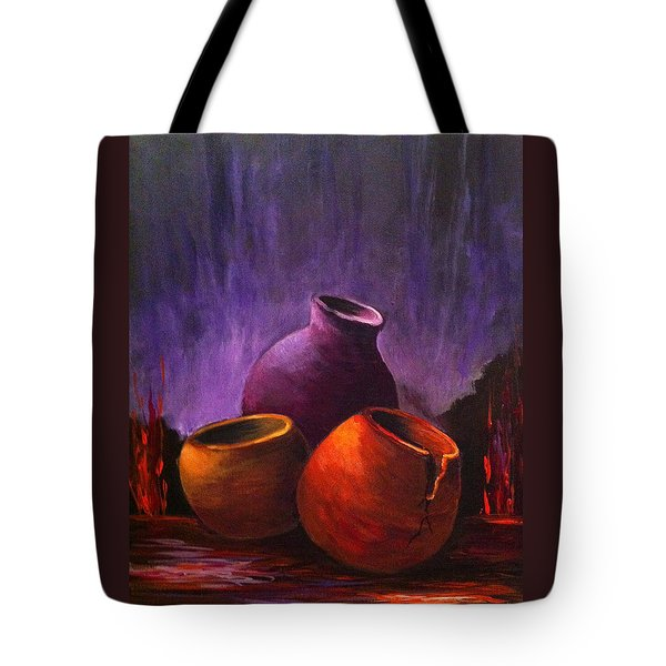 Old Pots 2 Tote Bag
