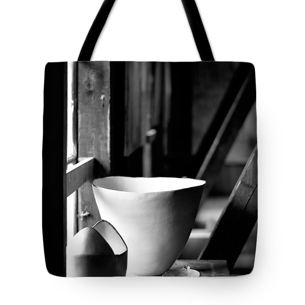 Old Pots At The Window Tote Bag by Tommytechno Sweden