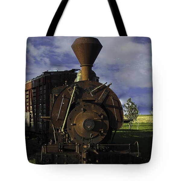 Old Prairie Train Tote Bag