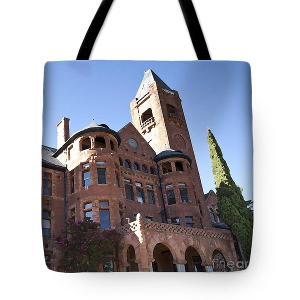 Tote Bag featuring the photograph Old Preston Castle by David Millenheft
