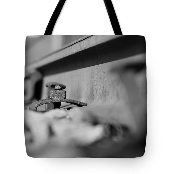 Old Railroad Track Tote Bag