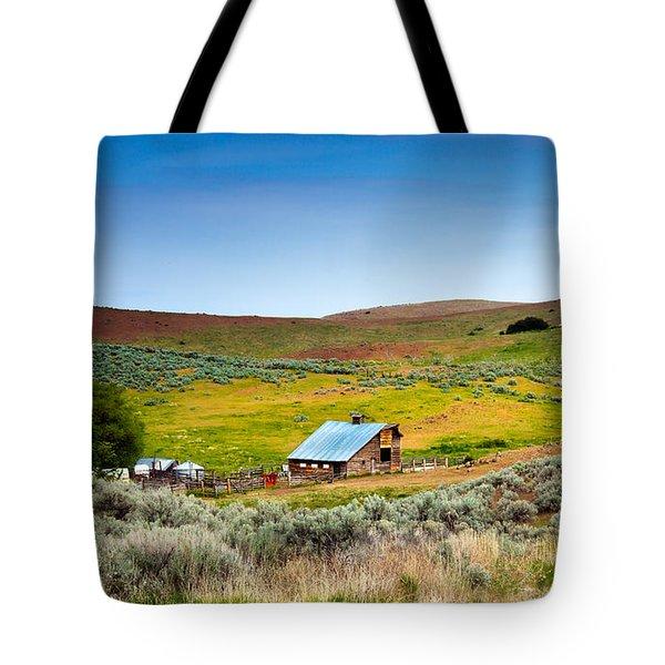 Old Ranch Tote Bag by Robert Bales