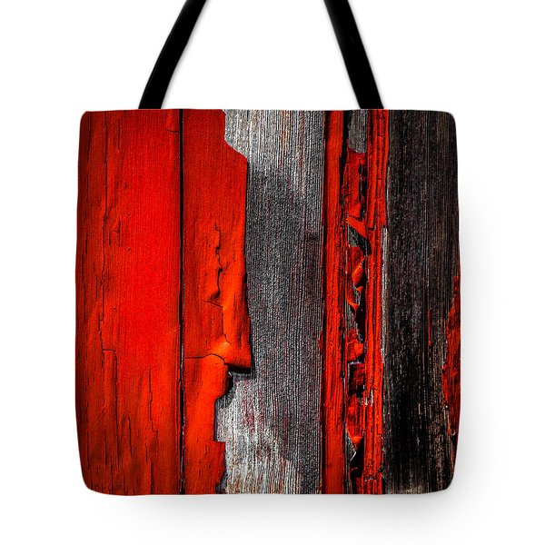 Old Red Barn One Tote Bag by Bob Orsillo