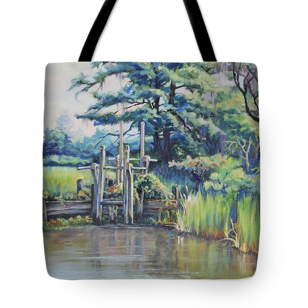 Old Rice Field Trunk Tote Bag