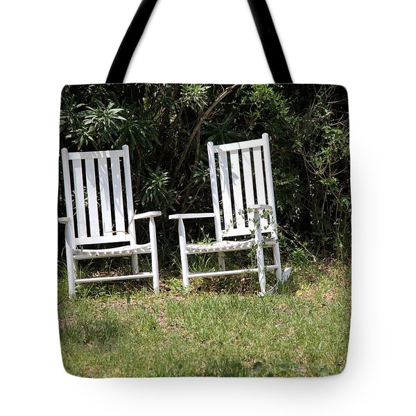 Old Rockers Tote Bag by Gordon Elwell