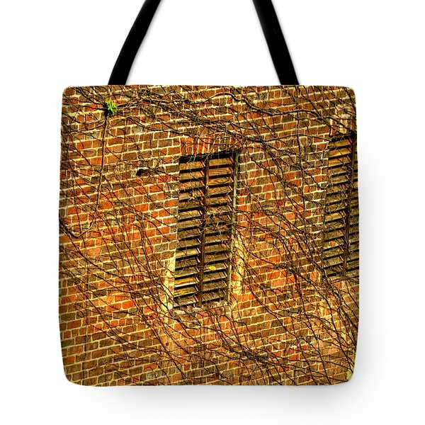 Old Roswell Manufacturing Mill Tote Bag