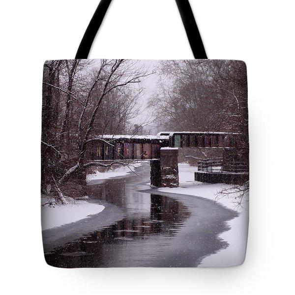 The Nifti Railroad Bridge Tote Bag