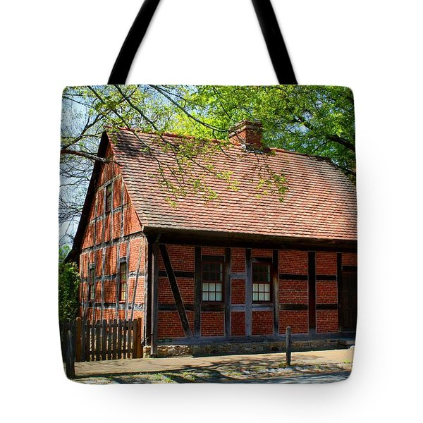 Old Salem Scene 3 Tote Bag