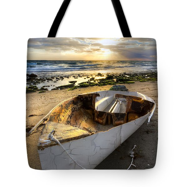 Old Salty Tote Bag by Debra and Dave Vanderlaan