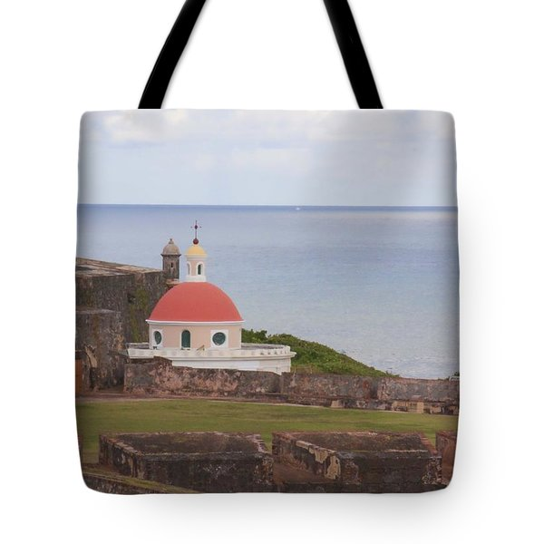 Old San Juan Tote Bag by Daniel Sheldon