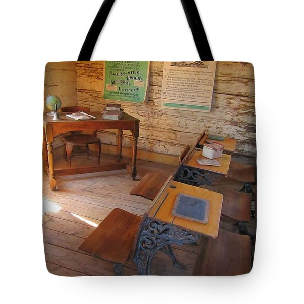 Old School Tote Bag by John Malone