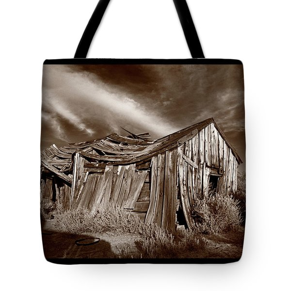 Old Shack Bodie Ghost Town Tote Bag