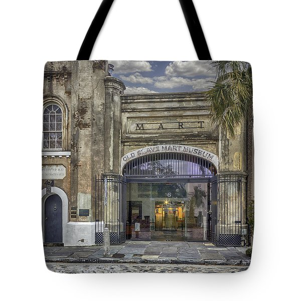 Old Slave Mart Museum Tote Bag by Lynn Palmer