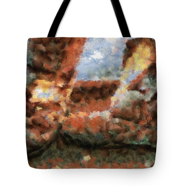 Old Snow Boots Tote Bag by Ayse Deniz