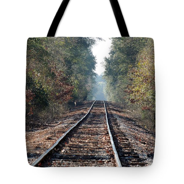Old Southern Tracks Tote Bag