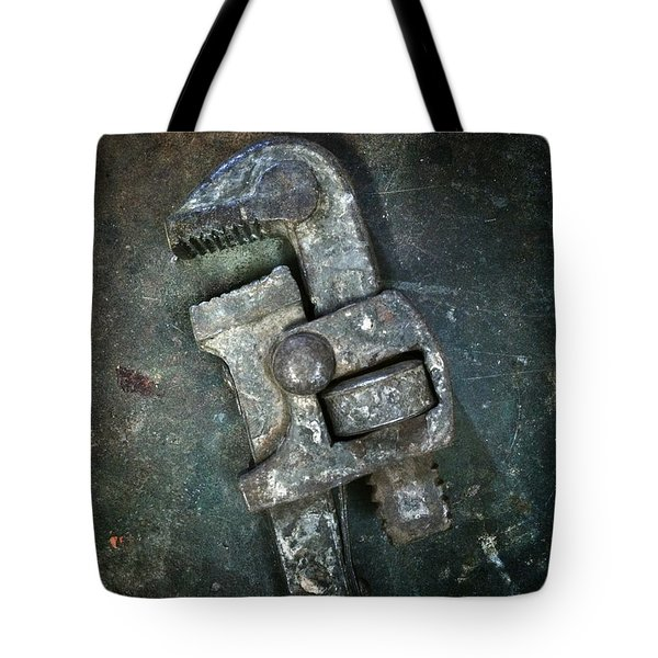 Old Spanner Tote Bag by Carlos Caetano