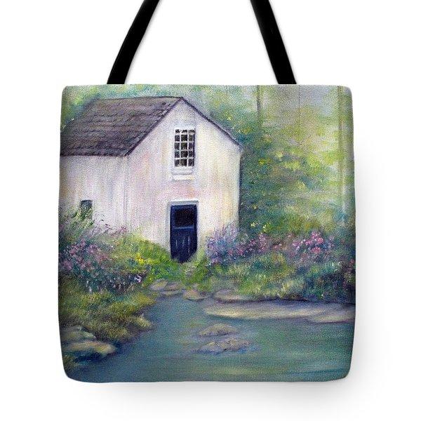 Old Springhouse Tote Bag