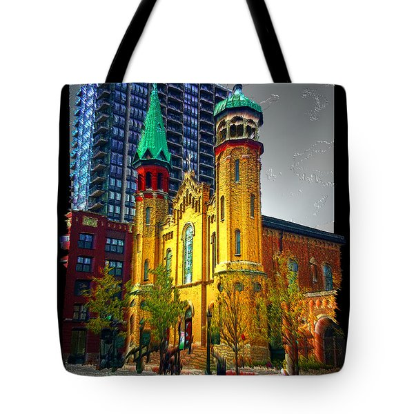 Old St Pats Tote Bag