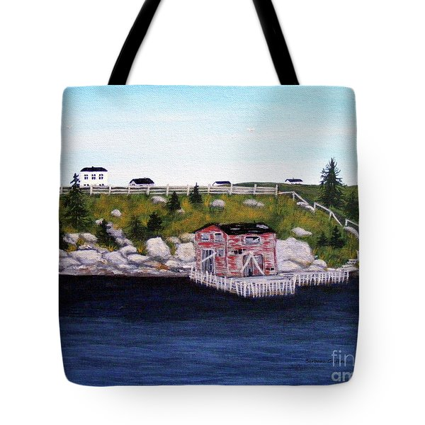 Old Stage And Storeloft Tote Bag by Barbara Griffin