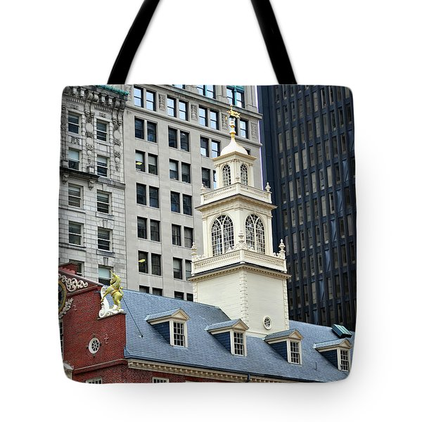 Old State House Boston Ma Tote Bag