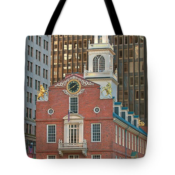 Old State House Tote Bag