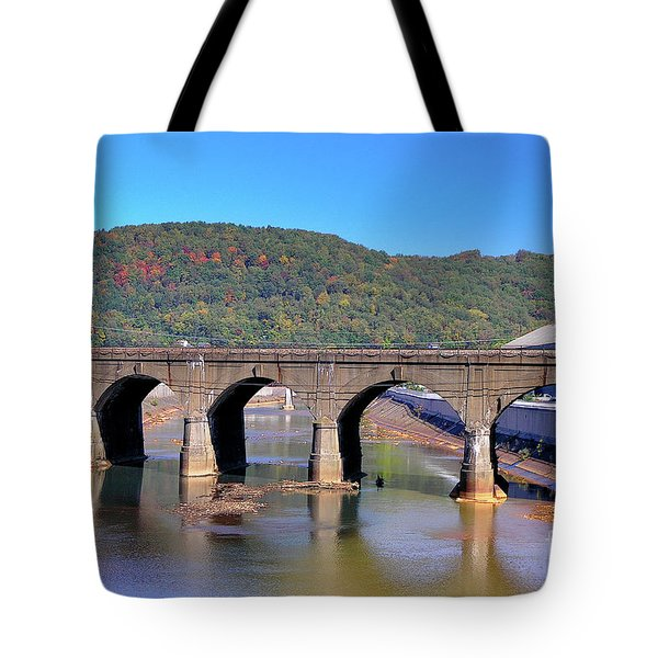 Old Stone Bridge - Johnstown Pa Tote Bag