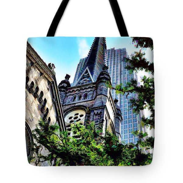 Old Stone Church - Cleveland Ohio - 1 Tote Bag