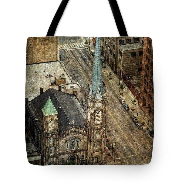 Old Stone Church Tote Bag