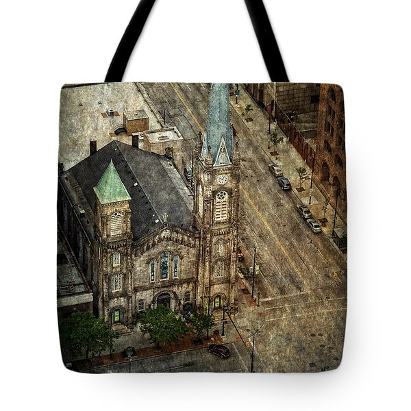 Old Stone Church Tote Bag