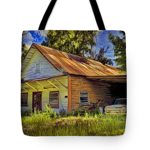 Old Store - Old Ford Tote Bag