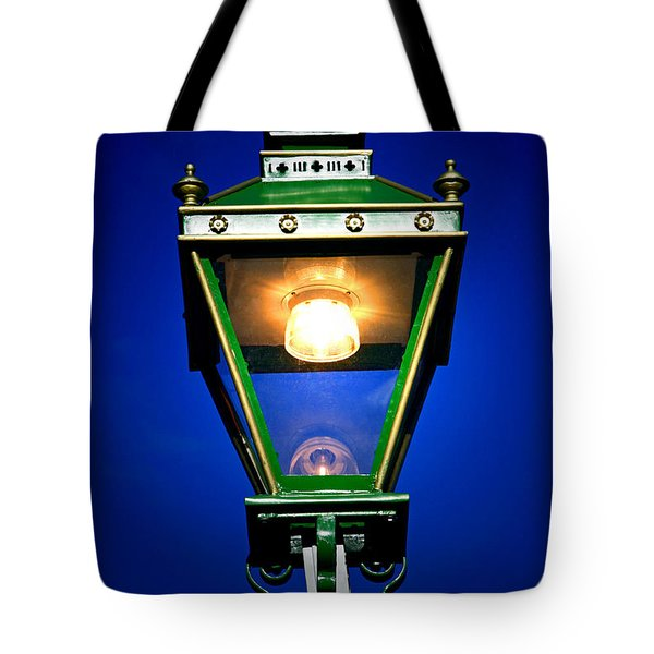 Tote Bag featuring the photograph Old Streetlamp by Craig B
