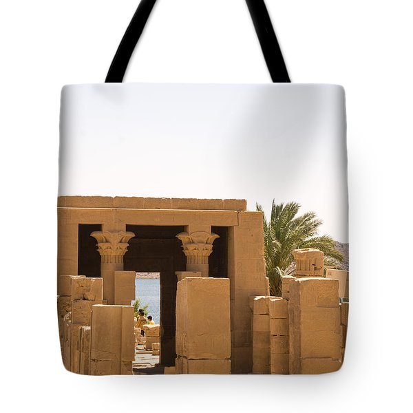 Old Structure 2 Tote Bag