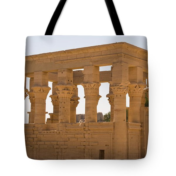 Old Structure 3 Tote Bag